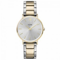 Reloj Cluse Minuit 3-Link Gold Silver-Gold-Silver CW0101203028.